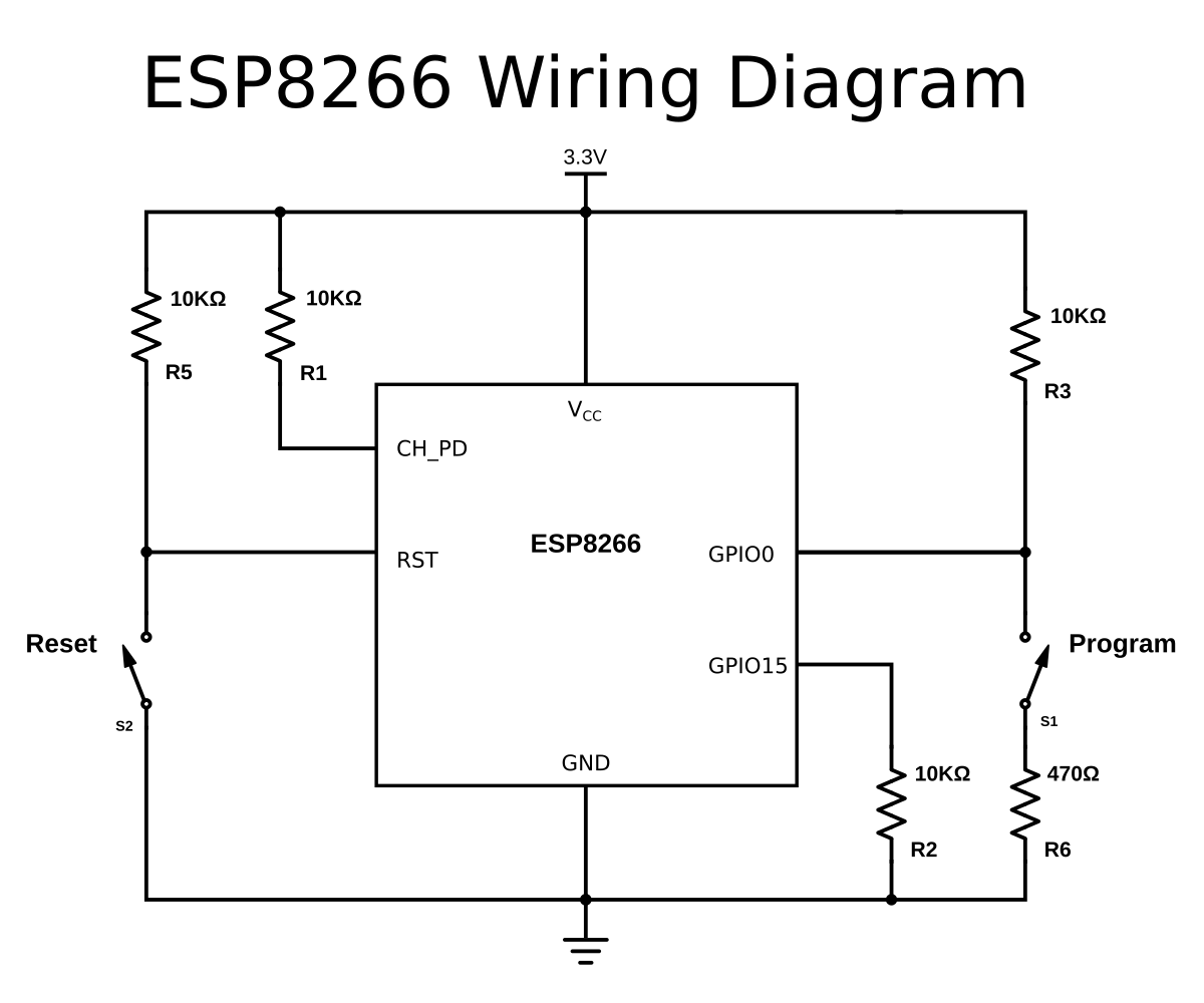 Esp8266 Wifi Controlled Relay Esp Wiring Diagrams You Need To Enable The And Put It Into Right Boot Mode Read More Here Https Tttapagithubio Chap02 Hardwarehtml